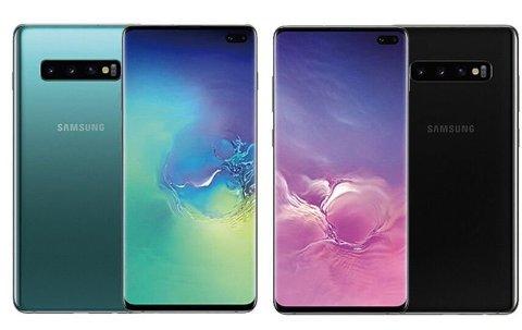 TERABYTE-MOBILEN: Den største varianten av Samsung Galaxy S10 har 1 terabyte lagringsplass. Disse bildene lekket ut i forkant av lanseringen. FOTO: Techadvisor.co.uk