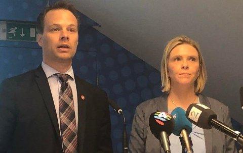 Frps innvandringspolitikere Jon Helgheim og Sylvi Listhaug vil at Norge skal gjøre mer som danskene.