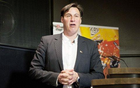 INNSTILT: Tom Tvedt tar trolig over etter Børre Rognlien som idrettspresident.