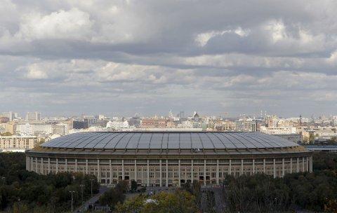 VM I RUSSLAND: Luzhniki Stadion er en av arenaene som skal brukes under VM i 2018.