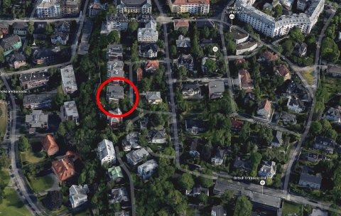 REKORD: I dette området på Gimle i bydel Frogner ble det satt prisrekord på boligmarkedet i Oslo tidligere i år med kvadratmeterpris på 287.000 kroner for en leilighet.