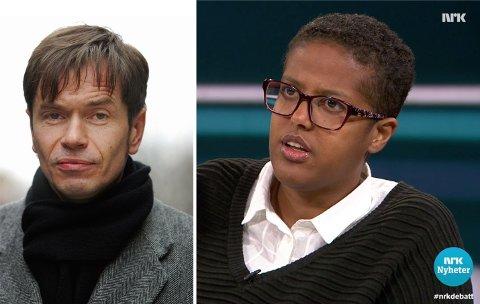 REAGERER STERKT: Samfunnsdebattant Kjetil Rolness mener det er absurd at Amal Aden må ha politibeskyttelse og hemmelig adresse fordi hun sier noe aller fleste mener.