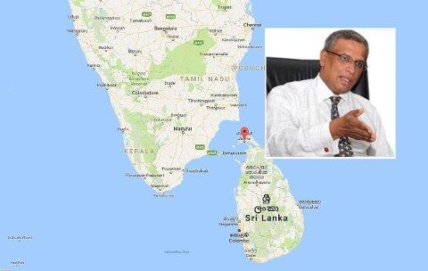 Fire personer er siktet for å ha planlagt å drepe parlamentarikeren M. A. Sumanthiran (bildet) med en veibombe. Planene skal ha fått støtte fra en tamil bosatt i Norge, skriver en avis på Sri Lanka.