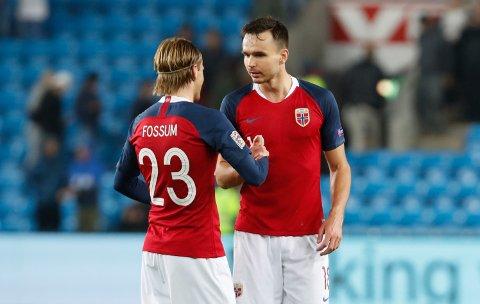 - I KINA: Ole Selnæs, her sammen med Iver Fossum, skal værr svært nær en overgang til kinesisk fotball.