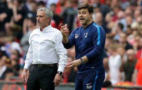 OVERTOK JOBBEN: Jose Mourinho erstattet Mauricio Pochettino som manager for Tottenham Hotspur.