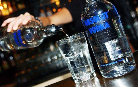 EKSPLOSIV VEKST: Spritsalget går som aldri før for spritkjempen Pernod Ricard, som eier Absolut Vodka-varemerket.