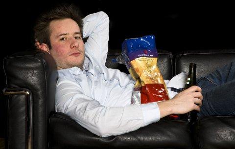 LITE AKTIV? Amerikanske forskere mener det er det synkende aktivitetsnivået som har gjort flere av oss tjukke, for vi spiser ikke mer.