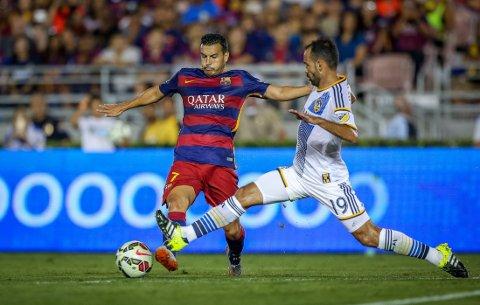 STOPPES: Pedro sin overgang til Manchester United kan stoppe opp, etter at Barcelona-presidenten visstnok nekter å selge spillere.