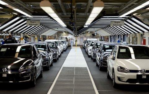 KJØPER TILBAKE: Volkswagen kjøper tilbake 480.000 dieselbiler fra kunder i California.