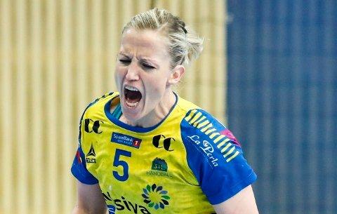 TIL SEMIFINALE: Heidi Løke og hennes Storhamar er klare for semifinale i sluttspillet.