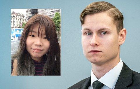 Philip Manshaus mener det var nødvendig å drepe sin stesøster, Johanne Zhangjia Ihle-Hansen. Han har ikke vist noen anger for handlingen i retten.