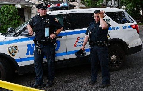 FRUSTRASJON: Opptøyene har ført til frustrasjon i New Yorks politi.