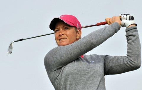 MOT TOPPEN: Suzann Pettersen sikter seg inn mot å bli verdens beste kvinnelige golfspiller.