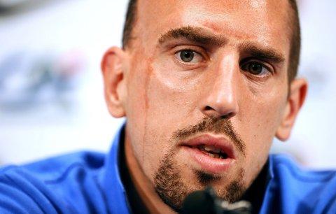 MISTER VM: Franck Ribery kan komme til å miste VM.
