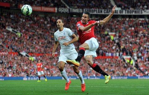 NY KLUBB: Rio Ferdinand var tilbake på Old Trafford med sin nye klubb QPR søndag.