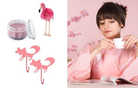 ROSA INSPIRASJON: Høst betyr mørkere morgener og kvelder. Vi slår derfor et slag for mer farge i hjemmet, og går for rosa.