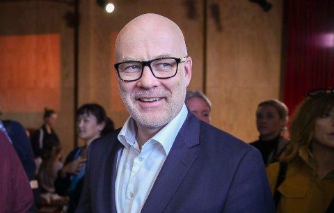 3,14 MILL: Kringkastingssjef Thor Gjermund Eriksen topper listen med en lønn på omtrent 3,14 millioner kroner.