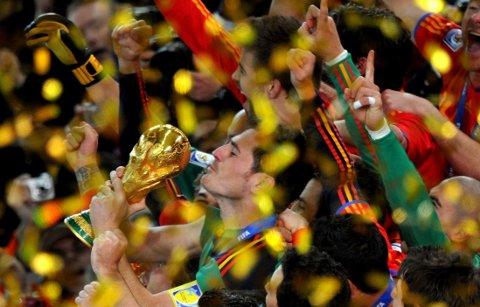 VANT: Spania vant VM 2010. Flere kamper skal ha blitt fikset rett før VM.