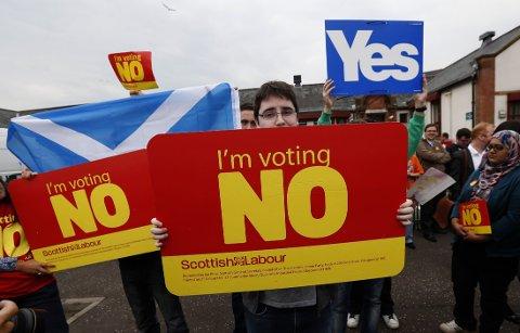 18. september avgjøres skjebnevalget.