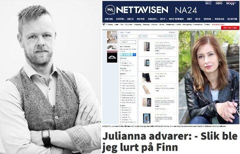 TIPS FOR IKKE Å BLI LURT: Sikkerhetsansvarlig Geir Petter Gjefsen i Finn.no gir deg flere tips for å unngå at du skal bli lurt slik Julianna Weber ble.