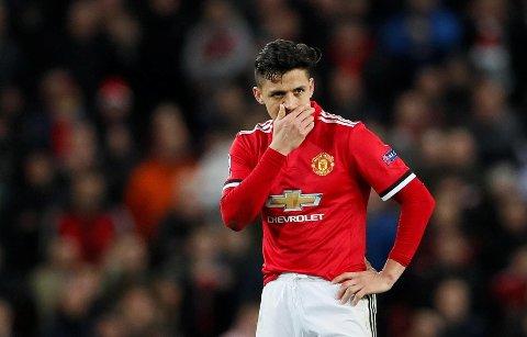 SKUFFENDE: Alexis Sanchez har så langt ikke imponert for Manchester United.
