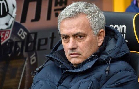 NY JOBB: Jose Mourinho flytter til Italia.