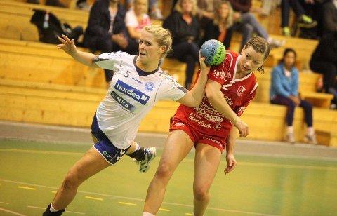 Toppscorer: Jenny Osnes Græsholt scoret fire av NIFs mål, og ble toppscorer sammen med fire andre spillere.