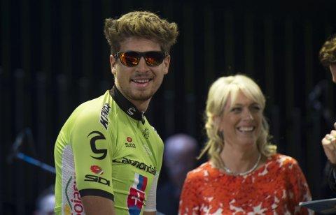 TAUS OM KONKURRENTENE: Peter Sagan jakter sin tredje grønne trøye i Tour de France.
