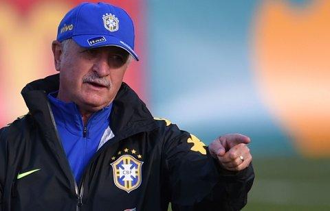 VINNER: Luiz Felipe Scolari kan bli den andre treneren i historien som vinner VM to ganger.