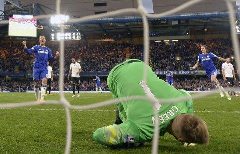 AVGJØRENDE: Harry Redknapp likte dårlig at Chelsea fikk straffespark.
