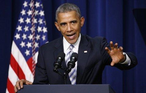 PRESIDENT: Barack Obama ventes å nedlegge veto mot de foreslåtte kuttene.