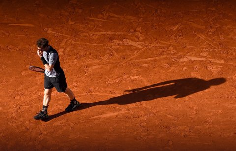 I SØKELYSET: Andy Murray forsøker å komme seg ut av den lange skyggen til Fred Perry.
