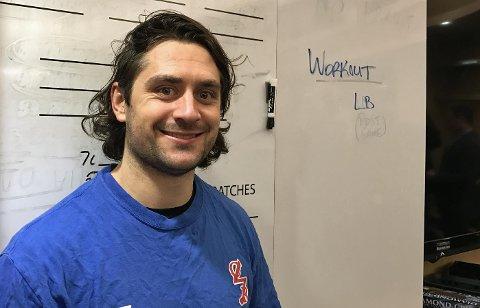 SCORET TO: Mats Zuccarello ga New York Rangers ledelsen 1-0 og utlignet til 3-3.