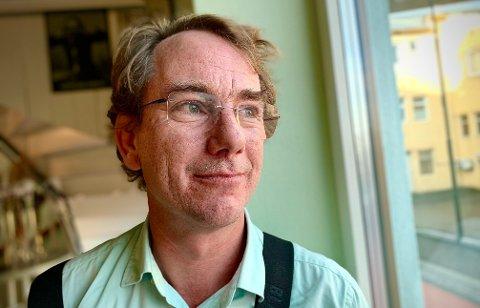 SKEPTIKER: Finn Gjedebo (47) er skeptisk til at klimaendringene er menneskeskapt, til tross for at det store flertallet av verdens klimaforskere mener det motsatte av ham.
