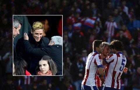 TILBAKE: Fernando Torres fikk se Antoine Griezmann fortsette scoringsshowet mot Levante.