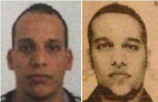 MISTENKTE: Brødrene Kouachi (32 og 34 år gamle) er sammen med en 18 år gammel mann mistenkt for å stå bak terrorenaksjonen i Paris.