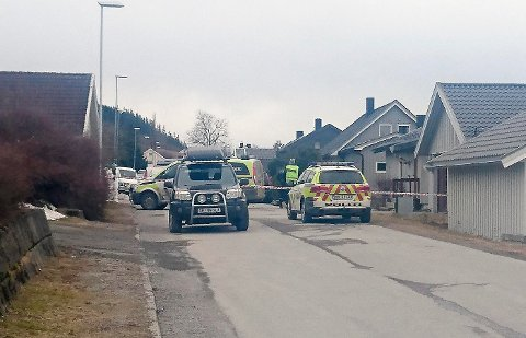 PÅ GATA: En mann i 60-årene ble drept etter en voldshendelse på Steinkjer torsdag ettermiddag. En 24 år gammel mann er pågrepet og foreløpig siktet for forsettlig drap.