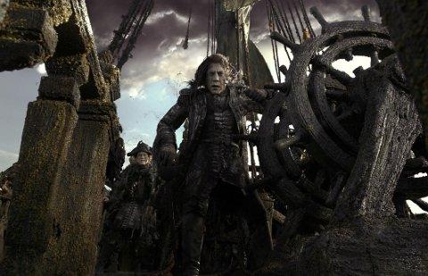 FORFØLGER JACK SPARROW: Salazar (Javier Bardem) setter etter kaptein Jack i den nye Pirates-filmen.