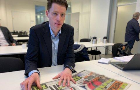 Konsernsjef Tolle Grøterud presenterer onsdag det som er svært dårlige tall for XXL.
