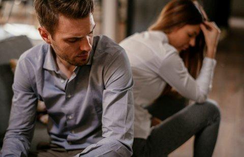 KRANGLING: Et vanlig fenomen når familiefreden trues av økonomiske problemer.