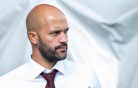 COMEBACK I NORGE: Luis Pimenta. Her avbildet som trener for Brommapojkarna i august 2018.
