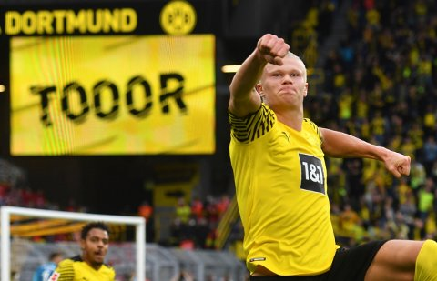 ETTERTRAKTET: Erling Braut Haaland kan trolig velge og vrake mellom Europas største klubber når han forlater Borussia Dortmund.