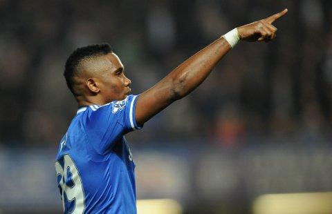 TOPP TRE: Samuel Eto'o har kun to mann foran seg på listen over de rikeste fotballspillerne.