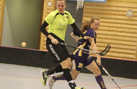 BEST: Ida Karlevold kom fra Holmlia før denne sesongen, og ble kåret til BMILs beste spiller i serieåpningen mot Tunet. FOTO: ARILD JACOBSEN