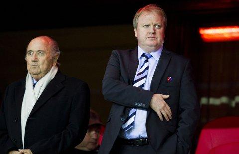 PAMPEFALL: Yngve Hallén sitter i FIFAs etiske komité.