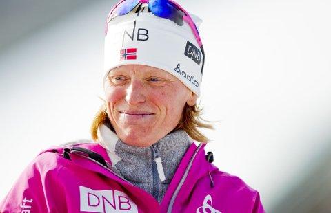 VENTER BARN: Tora Berger la opp etter fjorårssesongen. Nå venter den tidligere skiskytterdronningen barn.