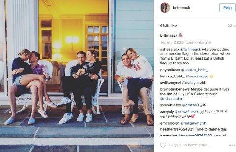 ANSIKTSUTTRYKKET til Ryan Reynolds fikk mye oppmerksomhet etter dette bildet ble publisert på Instagram i sommer. Nå forklarer skuespilleren hva som lå bak.