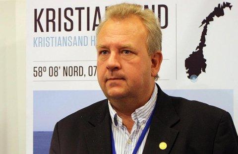 Fungerende havnedirektør i Kristiansand havn Thomas Granfeldt.Foto fra 2010.