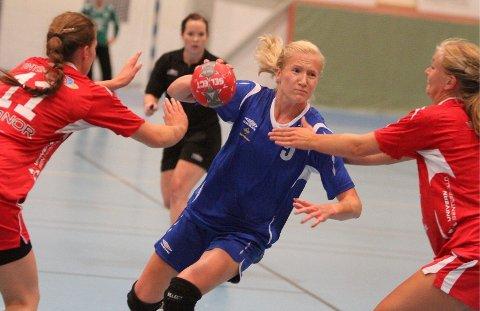 Talent: Henriette Svenningsen kom fra Kolbotn før denne sesongen. Mot Follo scoret hun to mål.