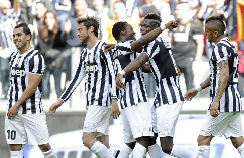 NY SEIER: Juventus økte forsparanget til ROma emd seier over Fiorentina.